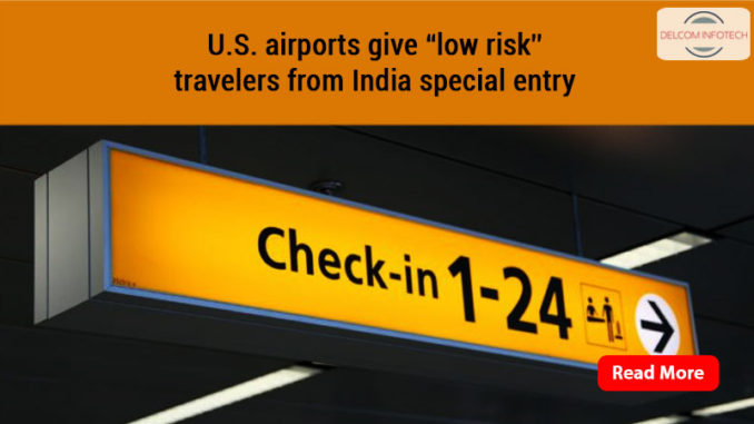 """U.S. airports give """"low risk"""""""