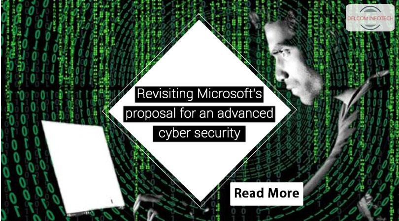Revisiting Microsoft's proposal